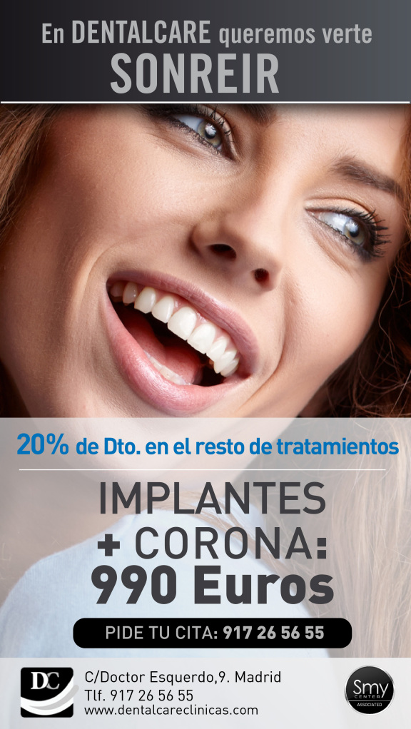 oferta implantes dentales